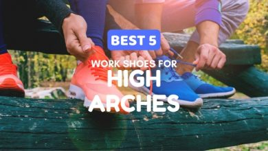 Photo of Best 5 Work Shoes for High Arches in 2020