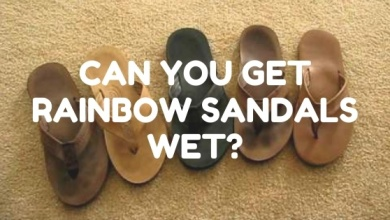 Photo of Can you get your Rainbow Sandals Wet?